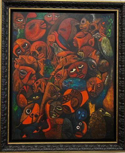 Malangatana Ngwenya, 'Gritos de Madrugada', 1985