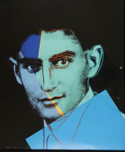 Andy Warhol, 'Franz Kafka II.225', 1980