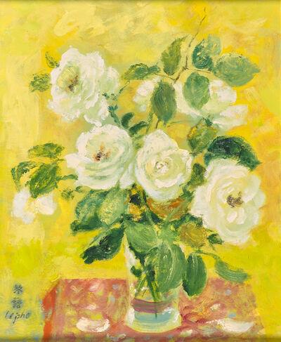 Le Pho, 'Untitled (White Roses)'