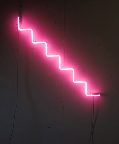 Mark Houghton, 'Pink Steps'