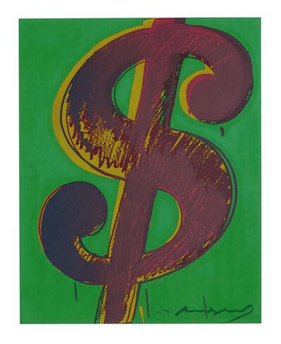 Andy Warhol, '$ (1) F&S II.279', 1982
