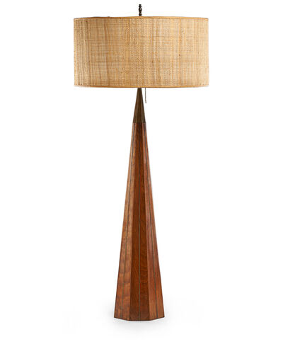 Phil Powell, 'Tall table lamp', 1956