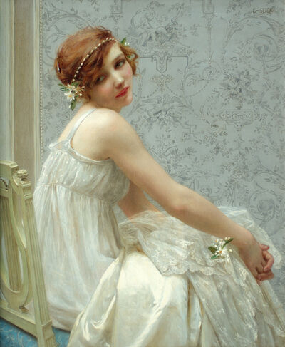 Guillaume Seignac, 'Virginité', ca. 1910