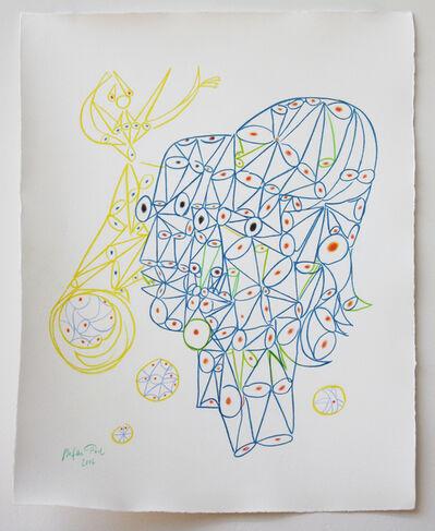 Stefan Thiel, 'Cocteau opium heads', 2016
