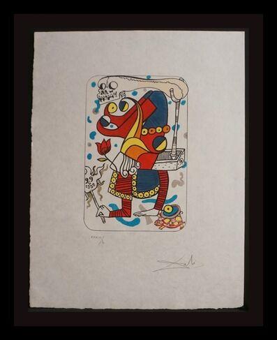 Salvador Dalí, 'Playing Cards Joker', 1972