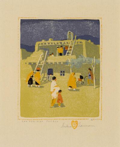 Gustave Baumann, 'San Domingo Pueblo', 1924