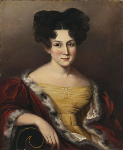 Sarah Miriam Peale, 'Portrait of Cornelia Mandeville', ca. 1830