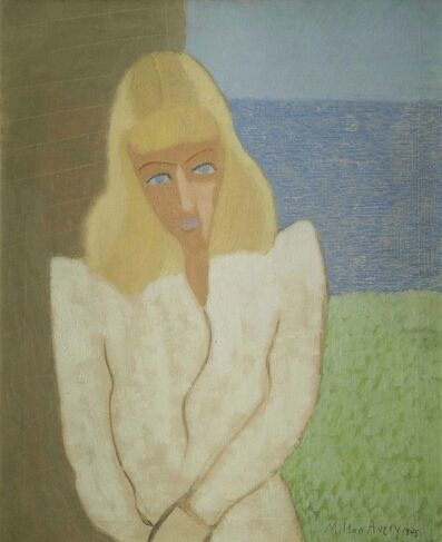 Milton Avery, 'March in White', 1945