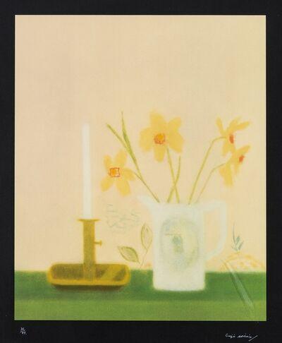 Craigie Aitchison, 'Daffodils and Candlestick (Lambirth & Peck 46)', 2001