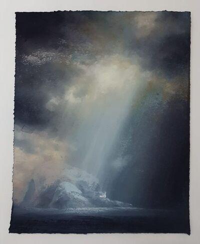 Matthew Draper, 'Descending Rays, A View of The Bass Rock'