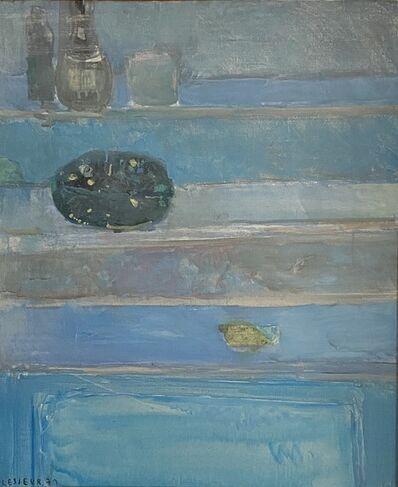 Pierre Lesieur, 'Composition in blue', 1971