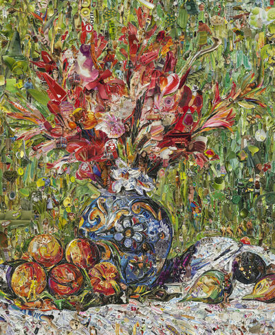 Vik Muniz, 'Flowers and Fruit, after Pierre-Auguste Renoir', 2013