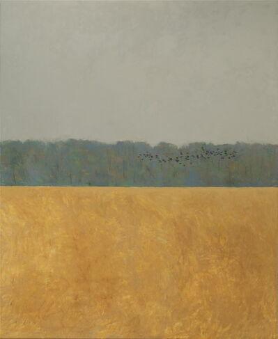 Ron Kingswood, 'Autumn - Blackbirds'