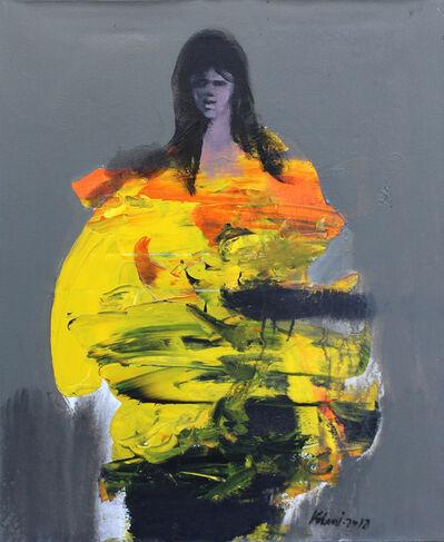 Khalid El-Khani, 'Lady in Yellow', 2018