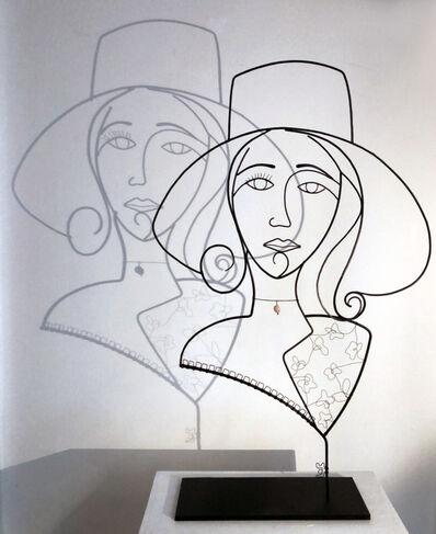 Laure Simoneau, 'La Demoiselle Au Chapeau', 2018