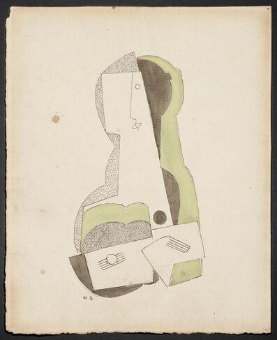 Henri Laurens, 'Femme à la guitare', 1918