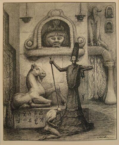 Alfred Kubin, 'The Magician', ca. 1900