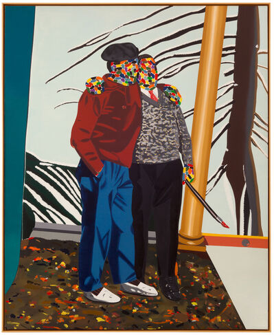 Eduardo Arroyo, 'PEINTRES CONTENTS D'EUX MÊMES', 1977