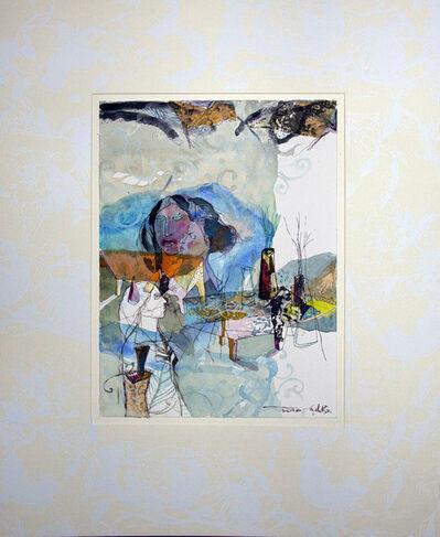 Jehad Al Ameri, 'Gray & Blue', 2020