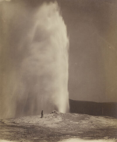 William Henry Jackson, 'Old Faithful', 1870