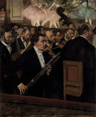 Edgar Degas, 'L'orchestre de l'Opera ­ (The Orchestra of the Opera)', ca. 1870