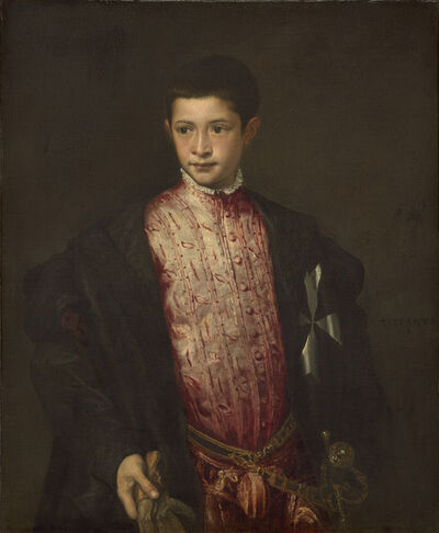 Titian, 'Ranuccio Farnese', 1542