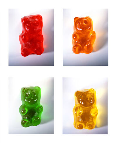 Vik Muniz, 'Gummy Bears', 2002