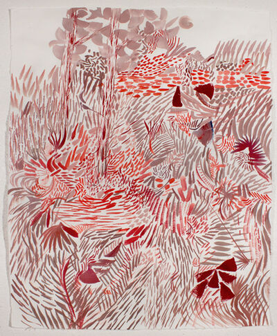Tim Cross, 'Red Forest', 2017