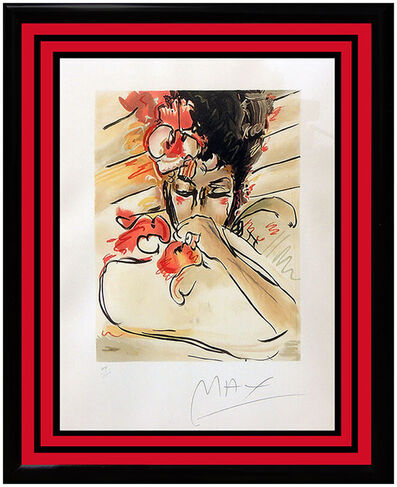 Peter Max, 'Peter Max Suzin Original Color Serigraph Hand Signed Pop Artwork Blushing Beauty', 20th Century