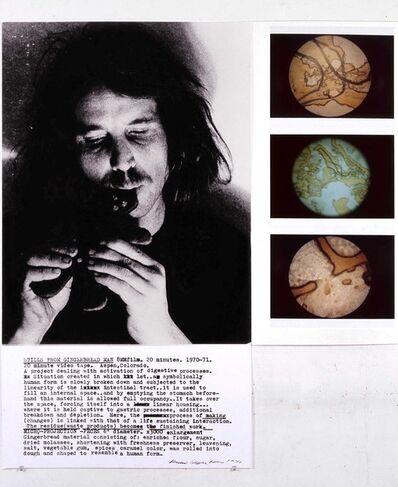 Dennis Oppenheim, 'Stills from Gingerbread Man, 8MM Film, 20 Minutes', 1970-1971