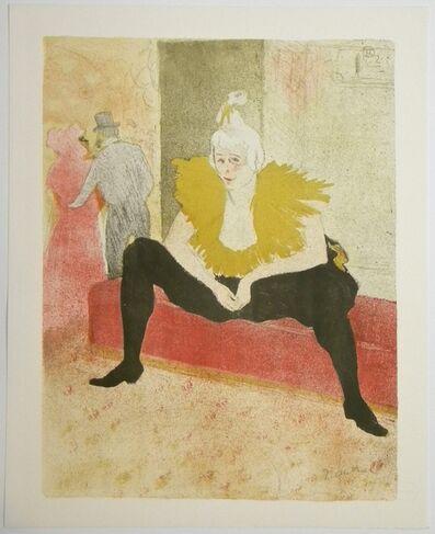 Henri de Toulouse-Lautrec, 'Clownesse Assise'
