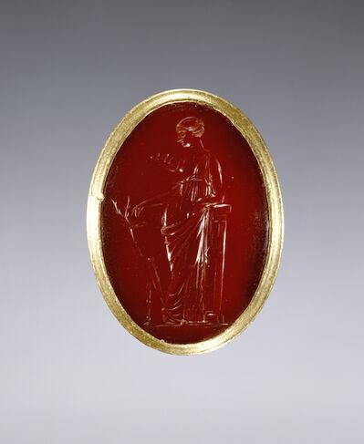 'Ring inset with intaglio representing Artemis', 220 -100 BCE