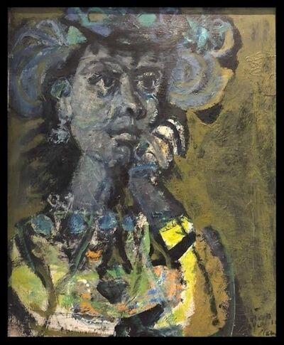 Antoni Clavé, 'figura femenina  ', ca. 1980