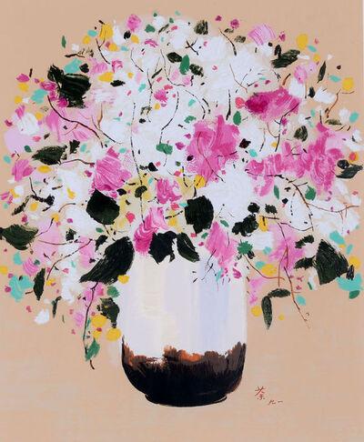 Wu Guanzhong, 'Lilac', ca. 2005