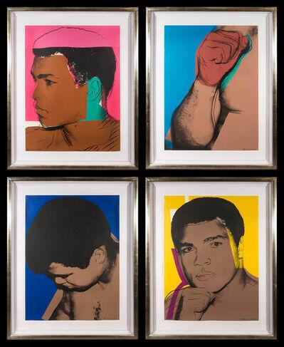 Andy Warhol, 'MUHAMMED ALI (Set of 4) (F. & S. II.179-182)', 1978