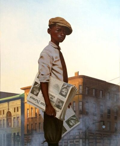 Kadir Nelson, 'Morning Post', 2014