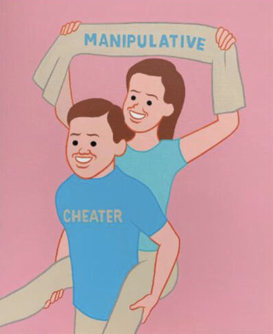 Joan Cornellà, 'Manipulative', 2019