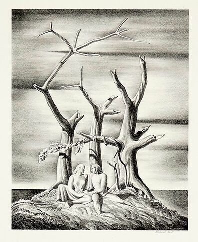 Rockwell Kent, 'Beowulf Genealogical Tree', 1931