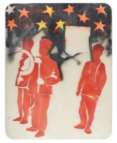 Mario Schifano, 'Compagni, compagni', 1968