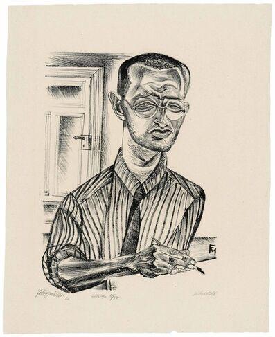Conrad Felixmuller, 'Selbstbildnis', 1921