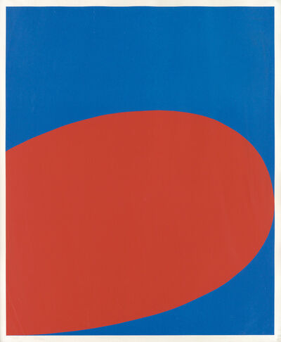 Ellsworth Kelly, 'Red/Blue (Untitled)', 1964
