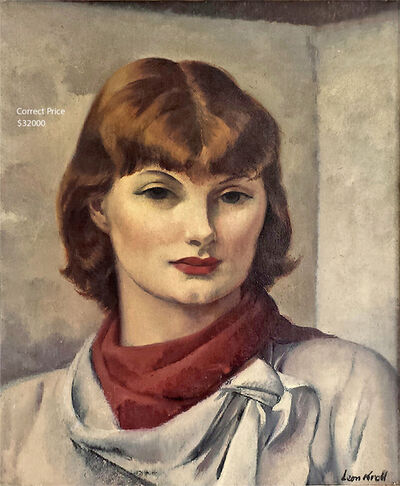 Leon Kroll, 'Miss Carolyn Edmunson', 1935