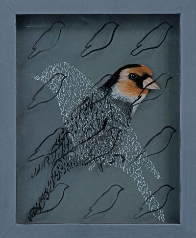 """Katayoun Rouhi, 'Language des oiseaux """"L'Unicite""""', 2014"""