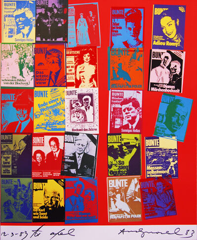 Andy Warhol, 'Magazine In History, II.304A', 1983
