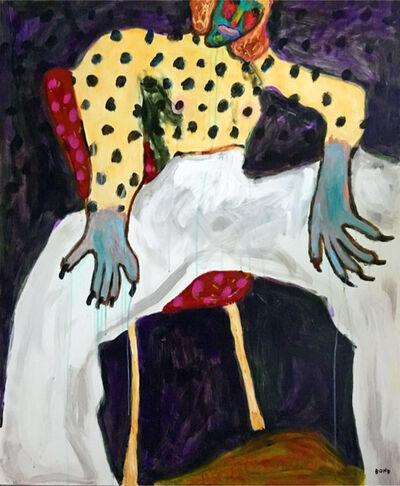 Sergey Bondarev, 'White Pants', 2018