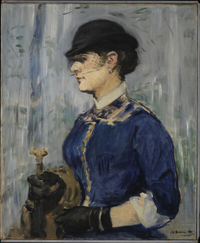 Édouard Manet, 'Young Woman in a Round Hat', ca. 1877