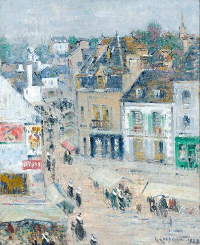 Gustave Loiseau, 'Pont-Aven, Temps Gris, Brittany', 1923