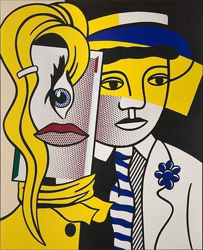 Roy Lichtenstein, 'Stepping Out, Hand signed Silkscreen Poster', 1978