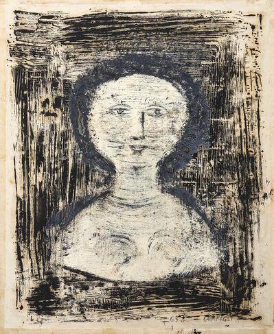Massimo Campigli, 'The blue necklace'