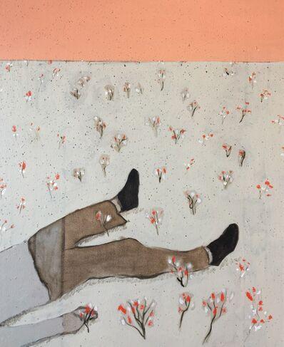 Francisco Rodriguez, 'Garden with men', 2019
